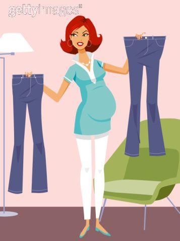 jeans-de-gravidez